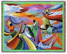 Skydancer by Ivey Hayes afghan throw