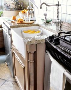A Deep Farmhaus Fireclay Sink From #Whitehaus Collection Is Essential.  Dirty Dishes And Prep