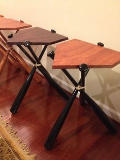 Hey, I found this really awesome Etsy listing at https://www.etsy.com/listing/215202866/baseball-bat-end-table-real-wood-table