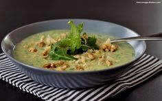 kartoffel-rucola-suppe / potato arugula soup