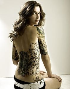 A Popular Tattoo Designs on Lower Back and Arm Female Tattooing Body Art For Complete Picture Gallery Visit: http://Tattoooz.com