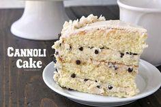 Cannoli Cake Recipe - from scratch cannoli cake