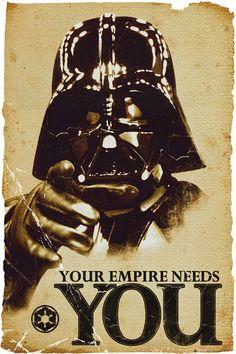 Star Wars Your empire needs you! #starwars #darthvader