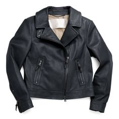 The Coach Leather Motorcycle Jacket