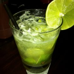 * caipiroska *  A glass full of ice Juice from 4 lemons Some sugar And complete the glass with vodka.   Delicious!