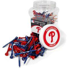 """Team Golf Philadelphia Phillies 2.75"""" Golf Tees - 175 Pack"""