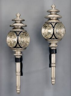 English 19th Century Pair Of Old Sheffield Plated Carriage Lamps Apter Fredericks Antique Lighting