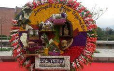 Feria de Flores 2013 Medellin. Silleta movil.