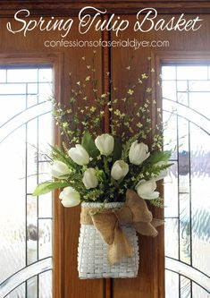 Merveilleux Over 27 DIY Easter And Spring Wreath U0026 Door Decorations   Think Spring!  Bunnies, Butterflies, Flowers   Ideas To Brighten For Your Front Door    Easy To Make ...