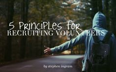 Stephen Ingram lays out 5 key things to remember when recruiting volunteers for youth ministry. Teen Volunteer, Volunteer Quotes, Volunteer Programs, Volunteer Management, Youth Worker, Youth Ministry, Church Ministry, Youth Leader, Youth Activities