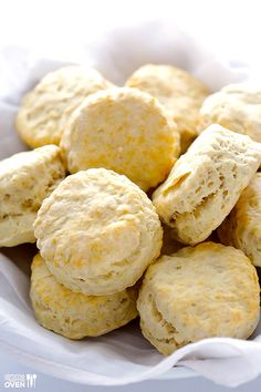 3-Ingredient Coconut Oil Biscuits | gimmesomeoven.com #breakfast #vegan