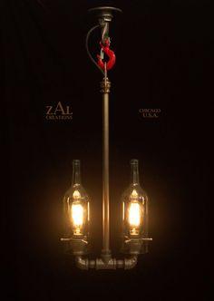 Baseball bat Track lighting Pendant light | Baseball bats, Pendant on edison home, edison lamps, edison light bulbs, edison dining room, edison glass,