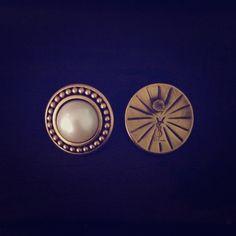 Yves Saint Laurent Vintage Earrings Vintage YSL earrings. Authentic branding shown. Yves Saint Laurent Jewelry Earrings