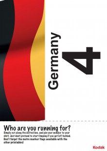 Print off this fantastic Kodak running bib, to represent Germany in the London 2012 games! iChild.co.uk
