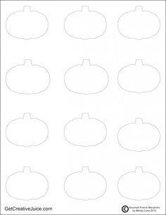 printable french macaron template - seashell macaron template templates pinterest macarons