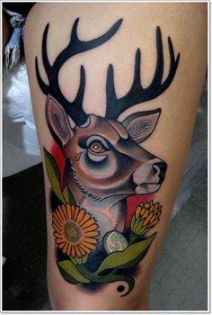 Deer+Tattoos+For+Men+And+Women+7