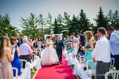 Outdoor Wedding Ceremony at Liuna Station. Hamilton Ontario, Your Photos, Wedding Ceremony, Events, Outdoor, Outdoors, Hochzeit, The Great Outdoors