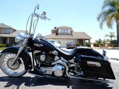 tricked out motorcycles | tricked out harley davidson softail deluxe | ... : harley davidson ...