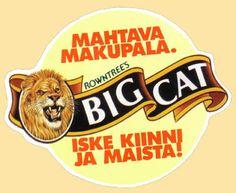 Big Cat -suklaapatukka (myöh. nimellä Lion)