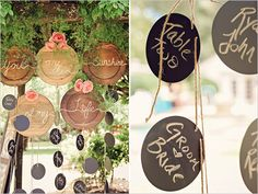place card seating idea @weddingchicks
