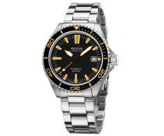 Epos Sportive Divers BlackOrange Automatic Wristwatch EPS 36