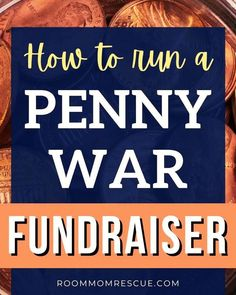 Putting on a penny wars fundraiser just got a little easier for your PTO/PTA! Learn the rules of the game, create a custom fundraiser flyer, get printable rule charts, advice on jars and containers for the coins, bulletin board ideas, and so much more! Learn more at roommomrescue.com Middle School, High School, Penny 1, Fundraising Activities, Coin Values, School Fundraisers, Milk Jug, Pta, Board Ideas