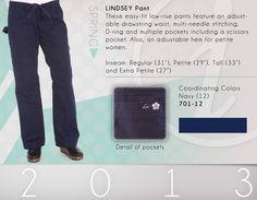 701 Lindsey Pant - 701-12 (Navy)