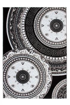 Moderner designer Teppich Ukraine - Odessa Schwarz Schwarz 280cm x 380cm #teppiche  http://www.amazon.de/dp/B0170HIUYI?m=A1R2EWUSWBGWY4&keywords=teppich+wohnzimmer