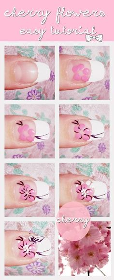 How to. Nail art