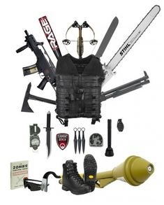 TACWRK Zombie Apocalypse Survival Kit #ZDayReady