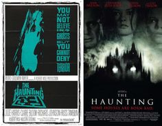 Most people hate the remakes of our beloved horror movies. Yes, most of them are crap, but at least some of the posters for the movies are an improvement. Horror Movie Posters, Movie Poster Art, Horror Films, Film Posters, Robert Wise, Macabre, Creepy, The Originals, Gallery