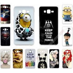 Carcasa plástica varios diseños para personalizar tu Samsung Galaxy J3