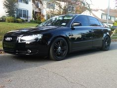 Blacked Out Audi A4
