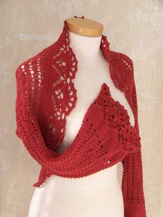 FIORENZA Crochet shrug pattern pdf