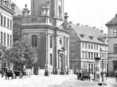 unbek. Fotograf , Parochialkirche, Berlin: Ansicht. Foto auf Karton, 20,70 x 13,00 cm (inkl. Scanran - Architekturfotos