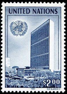United Nations. 1991 #Phelately