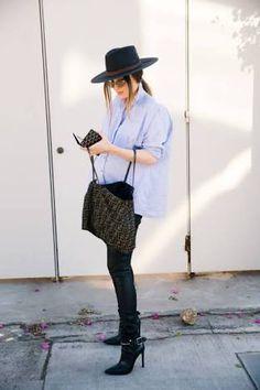 e910743e38f Resultado de imagen para pregnancy fashion fedora