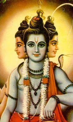 Lord Dattatreya - A Collective Form of Brahma, Vishnu and Shiva Shiva Hindu, Shiva Art, Hindu Art, Hanuman Photos, Shiva Photos, Shiva Yoga, Shani Dev, Lord Murugan Wallpapers, Saraswati Goddess
