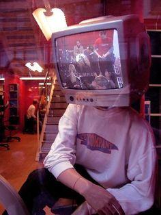 """Tv head   """"berg"""", """"television"""" - werllen"""