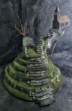 Forgotten Churchyard terrain piece for Age of Sigmar