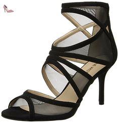 Nine West Gezzica Synthétique Sandales, Black/black, 36.5 EU - Chaussures nine west (*Partner-Link)