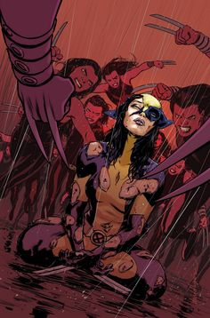 Say goodbye to the X-MEN as they each die in DEATH OF X variant covers.
