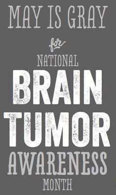 "I have to disagree, I think grey is a beautiful color! ""Brain Tumor Awareness Month in May -- I get the whole ""grey matter"" thing, but gray ribbons aren't very pretty. Brain Cancer Awareness, Childhood Cancer Awareness, Brain Cancer Ribbon, Brain Tumor, Brain Injury, Ptsd, Breast Cancer, Awakening, The Cure"
