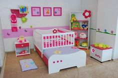 cama cuna - Buscar con Google Girl Room, Girls Bedroom, Baby Information, Kids Decor, Home Decor, Kids Corner, Baby Room Decor, Kid Beds, Bed Design