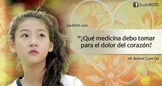Frases de Hi! School: Love On - Parte 3 - lulu6002   Frases de Doramas   Frases KPOP   Frases de Libros