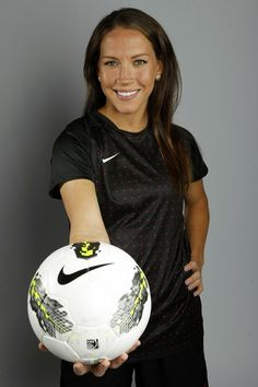 Soccer player Lauren Cheney poses for a portrait during the 2012 U.S. Olympic Team Media Summit in Dallas, Texas May 15, 2012. Scripps Howard News Service/Michael Zamora