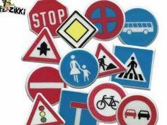 De verkeersborden