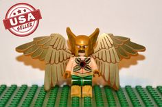 Hawkman Custom minifigure Lego Compatible DC by Thewayofthegeek