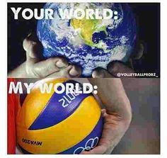 Volleyball. My world