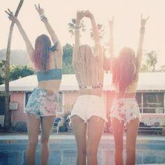 Friends, fun, freedom!